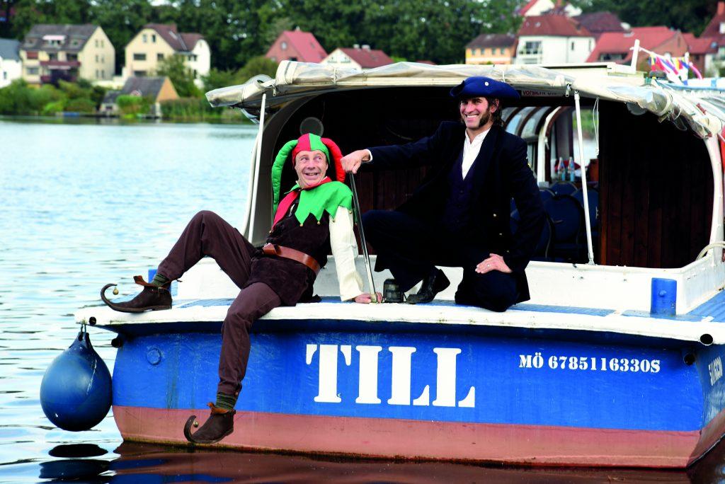MS Till sticht in die Seen Schifffahrt mit dem Grachtenboot