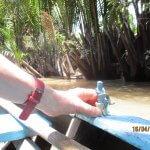 Fahrt auf Mekong