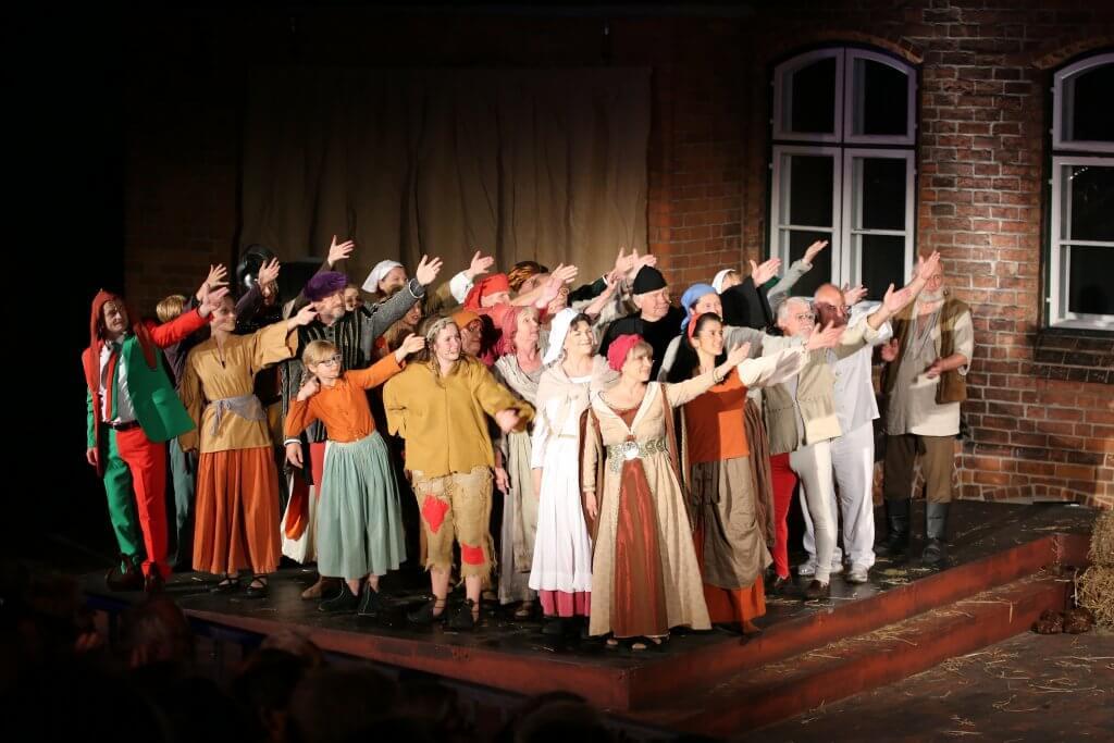 Premiere der Eulenspiegel-Festspiele 2015