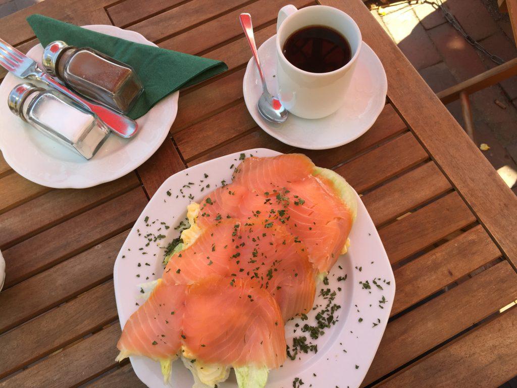 Frühstück im Altstadtcafé - Sven Kolb