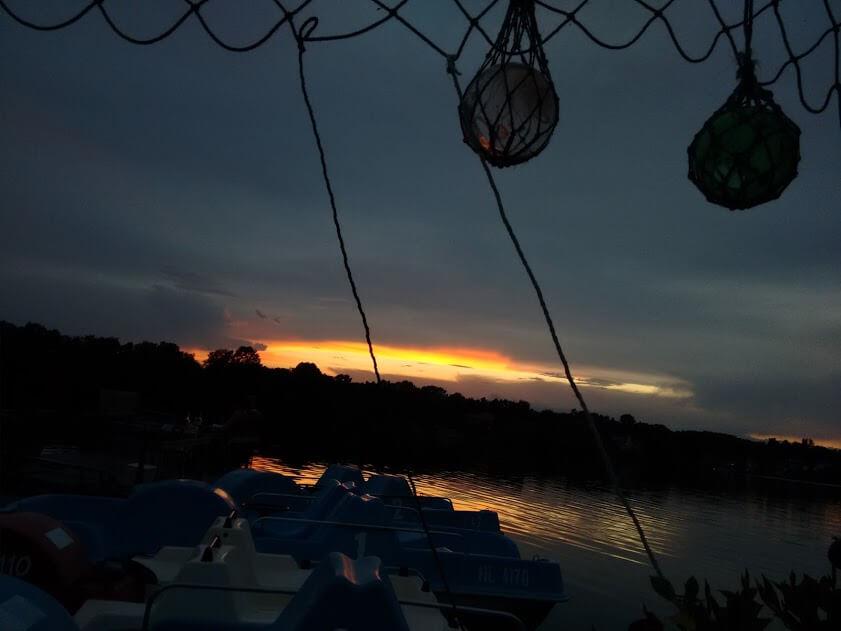 Ich bin Sonnenuntergangssammlerin