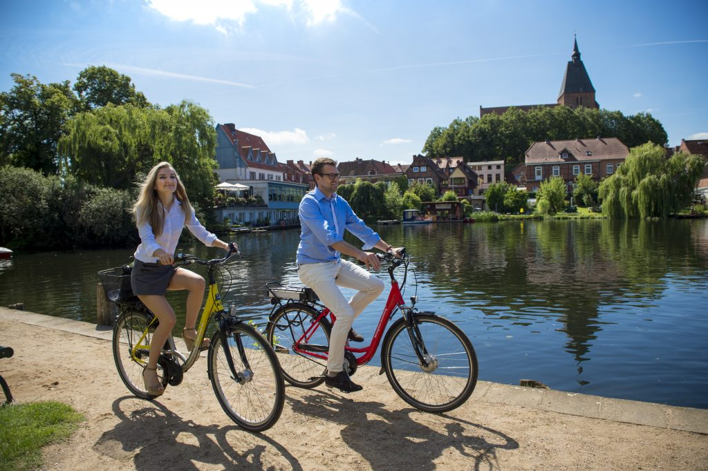 Rad fahren in Mölln; Foto: © Jens König