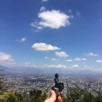 Till über den Dächern von Santiago de Chile