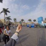 Till auf dem Plaza de Armas de Lima
