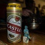 Till wurde ein südafrikanisches Bier angeboten
