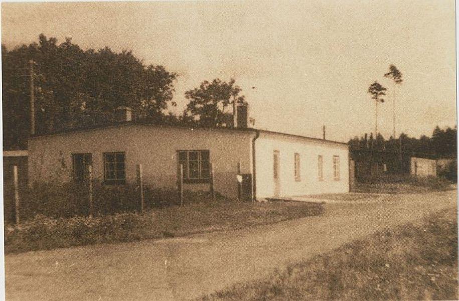 Möllner Chenille-Fabrik, Waldstadt 1952; Foto: © Stadtarchiv Mölln