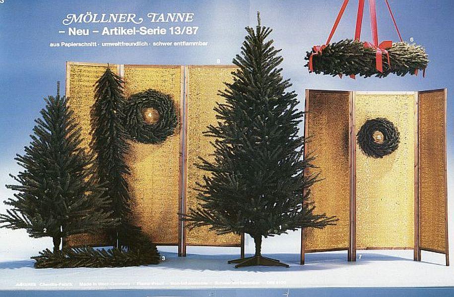 """Die """"Möllner Tanne"""" aus einem Prospekt von 1987; Foto: © Stadtarchiv Mölln"""