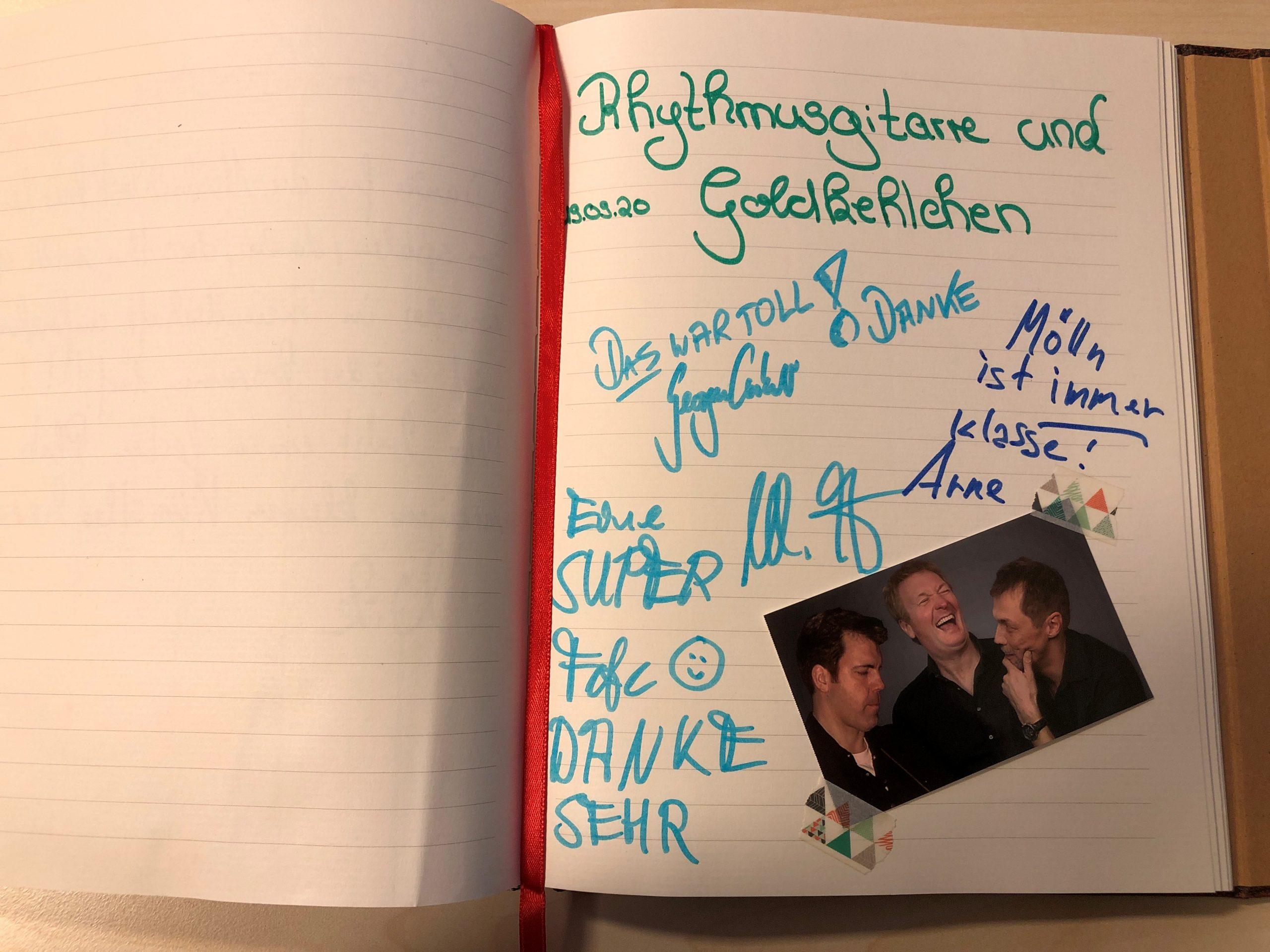 Arne Wessel, Michael Jessen und Georgie Carbutler (von links nach rechts); Foto: © Kathrin Thomann
