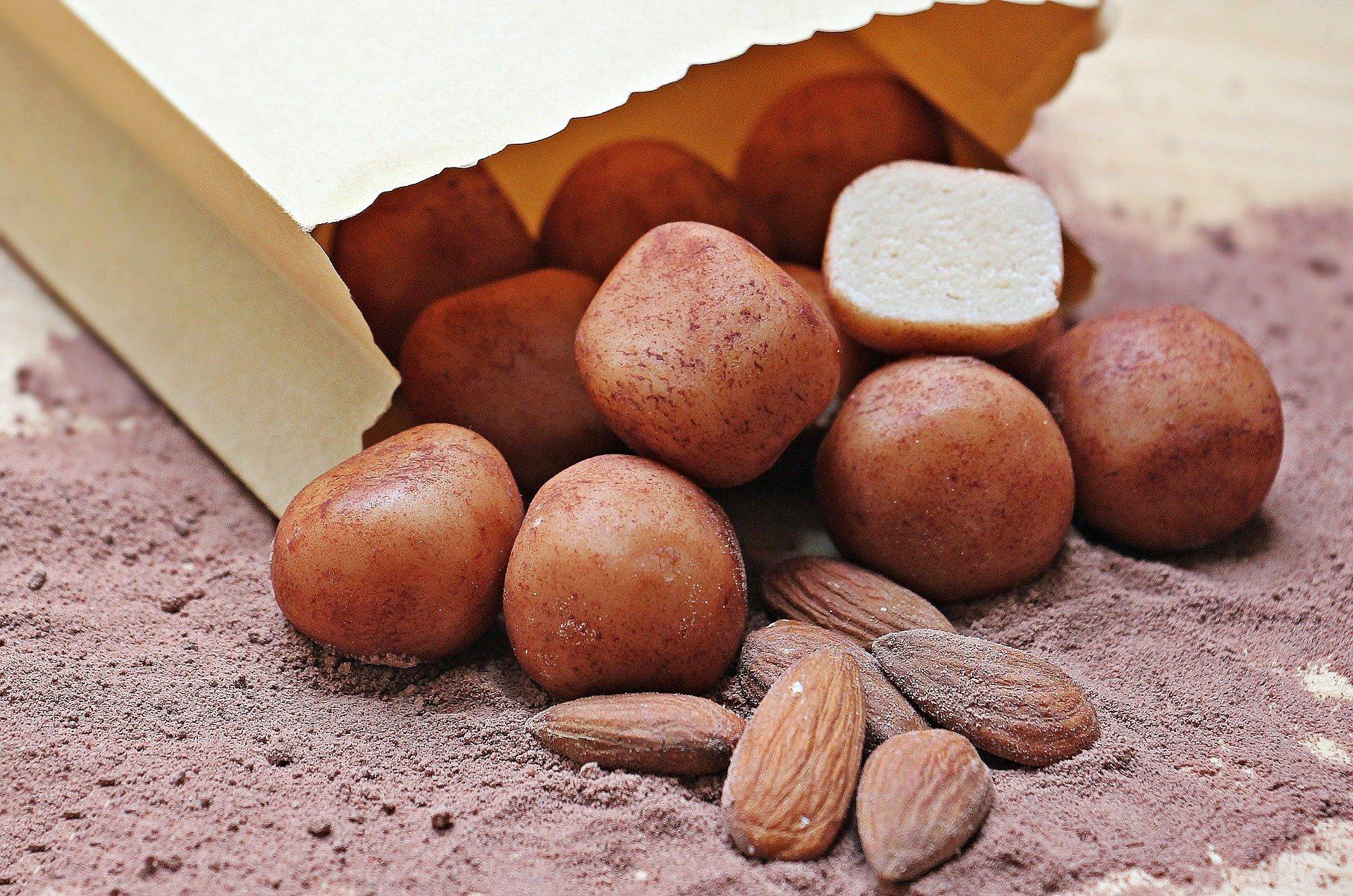 Marzipankartoffeln; Foto: S. Herrmann und F. Richter via Pixabay